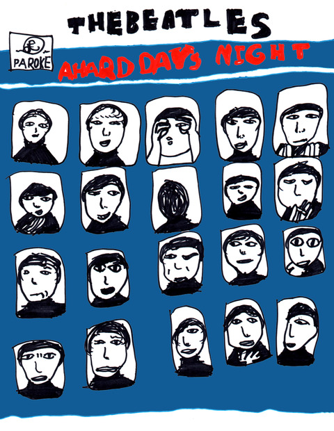 「A HARD DAYS NIGHT」