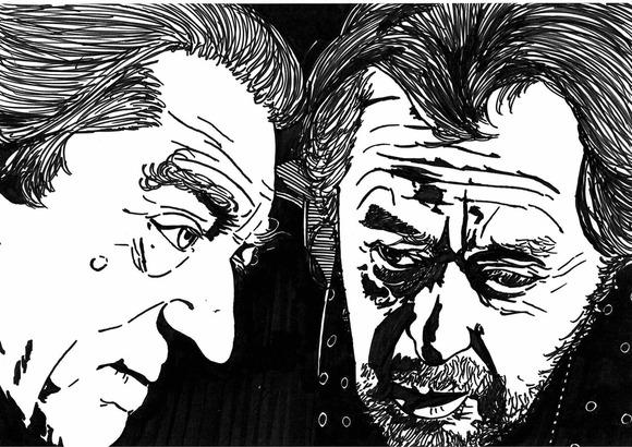 ロバート・デ・ニーロとアル・パチーノ