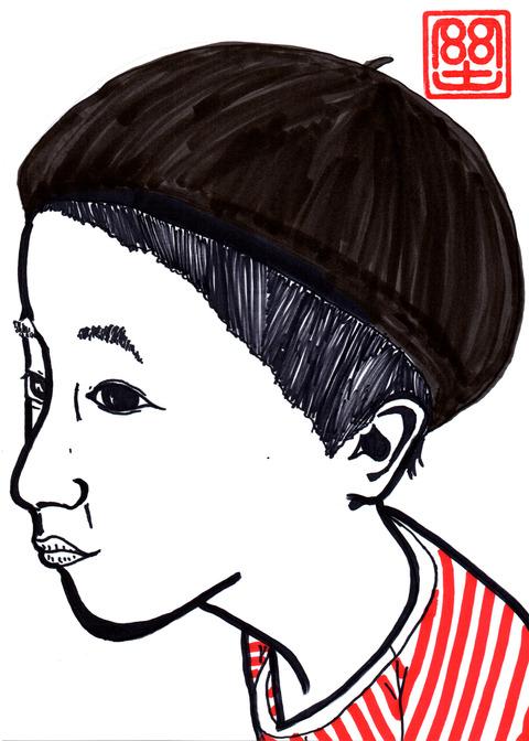 モンド12才の自画像