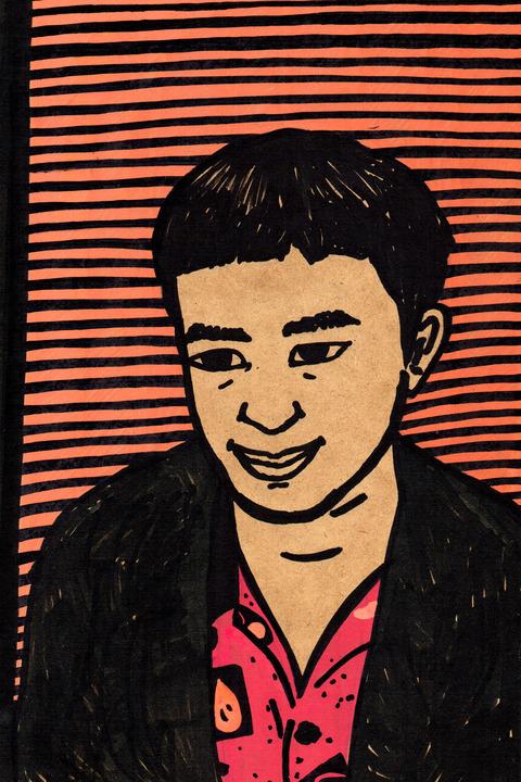 奥村門土自画像16歳
