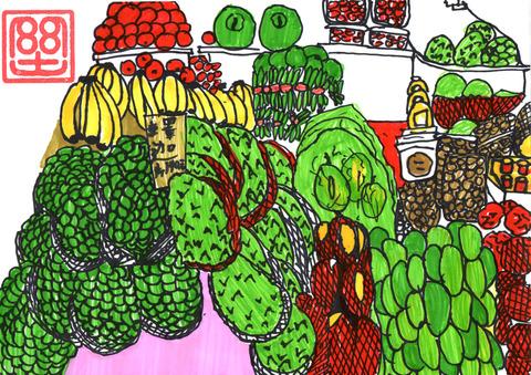 台湾のフルーツ