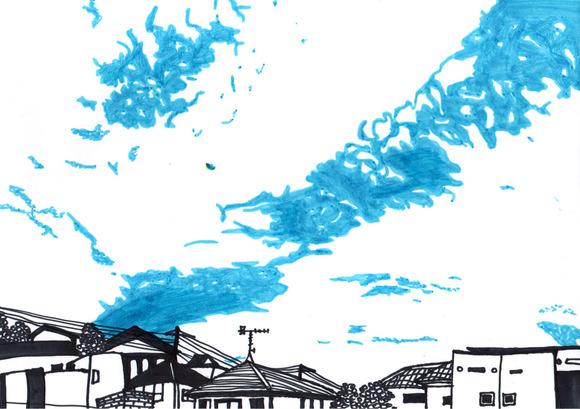 ある夏の空