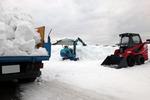 丸一日掛けて排雪終わり