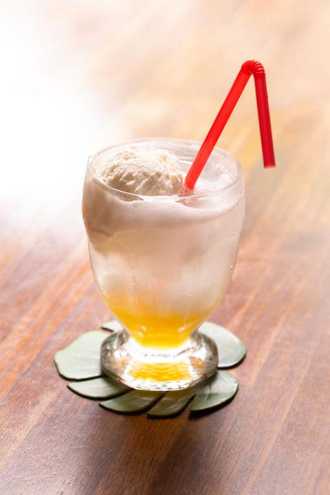 飲み物マンゴー画像