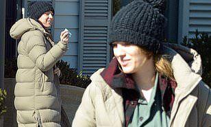 【肌荒れとむくみがすごい…!?】すっぴんのブレイク・ライブリーがランチにお出かけ!Blake Lively enjoys a lunch date in New York