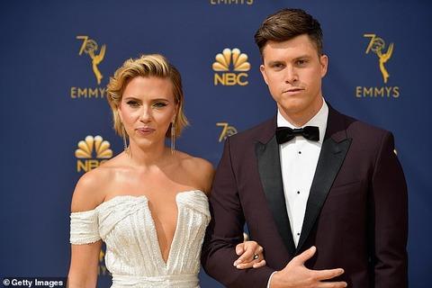 【三度目の正直…!?】スカーレット・ヨハンソンが恋人のコリン・ジョストと婚約!Scarlett Johansson and Colin Jost are engaged