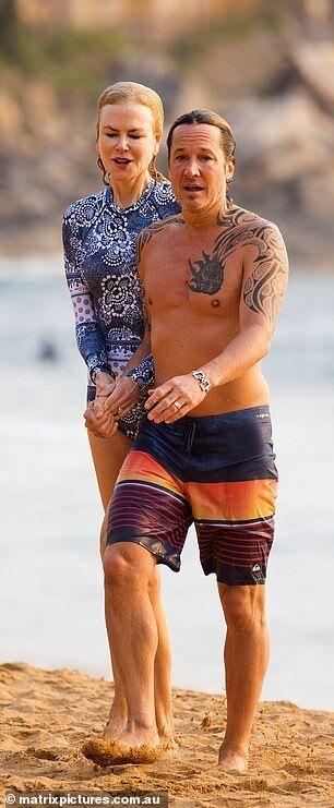 【意外と年齢相応…!?】ニコール・キッドマンが夫のキース・アーバンとシドニーのビーチでバケーション!Nicole Kidman and husband Keith Urban at the beach in Sydney