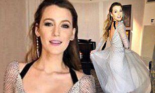 【どんどん痩せてきてる…!?】ブレイク・ライブリーが新作映画のプレス発表にお出かけ!Blake Lively in glamorous gown