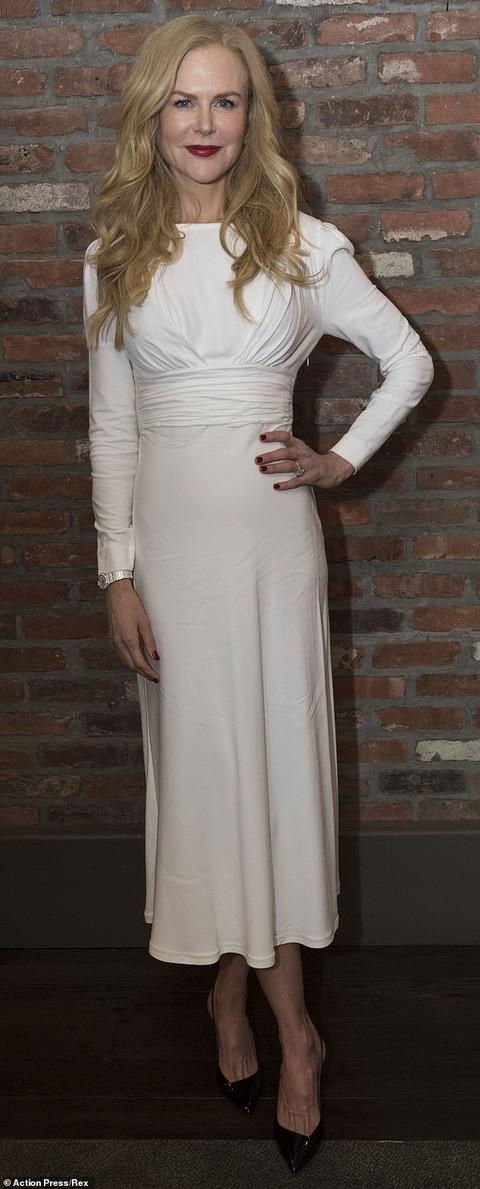 【ボトックスやフィラー注入済み?と話題に…!】ニコール・キッドマンが「ビッグ・リトル・ライズ シーズン2」のプレミアに登場!Nicole Kidman at Big Little Lies season two premiere
