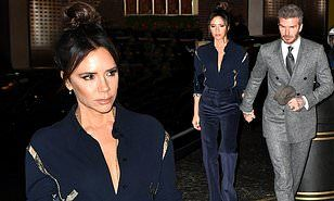 【ビクトリアの表情が暗すぎ…!?】ベッカム夫妻がディナーパーティーにお出かけ!Victoria and David Beckham head to GQ's dinner