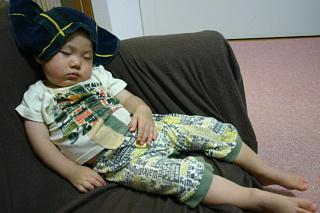 夏のお昼寝2