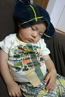 夏のお昼寝1