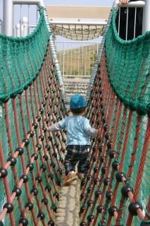 公園遊び 吊り橋