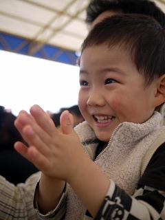手拍子の練習
