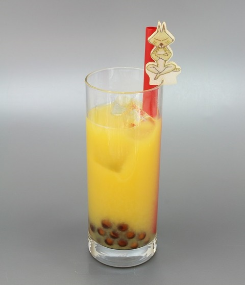 スナドリネコさんのタピオカオレンジジュース++