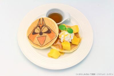 アライグマくんのマンゴーパンケーキ