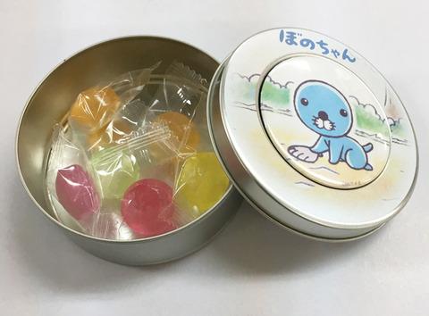 ぼのちゃんキャンディ缶02