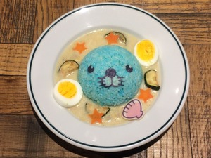 【通期】ぼのちゃんまんまるシーフードエッグカレー