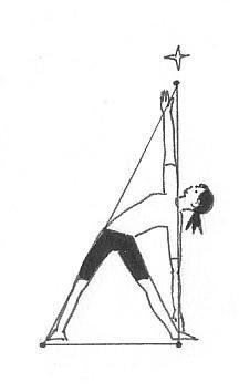 三角のポーズ2