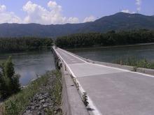 吉野川潜水橋