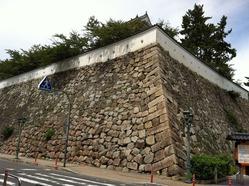 福山城石垣
