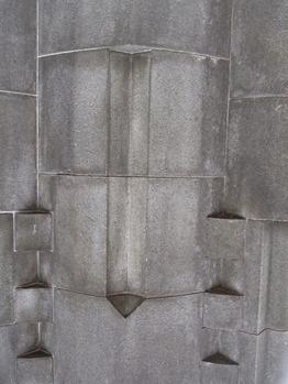親柱の部分