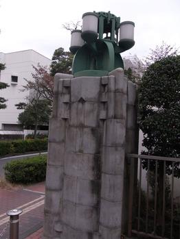 花園橋の親柱