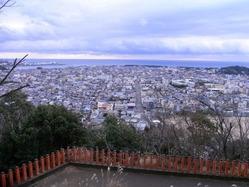 神倉神社からの遠望