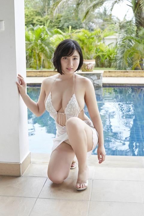 【エロ画像】ビキニギャル紗綾ちゃんのわがままボディーにプレスされて圧死したい。ビキニグラビア画像 Part2