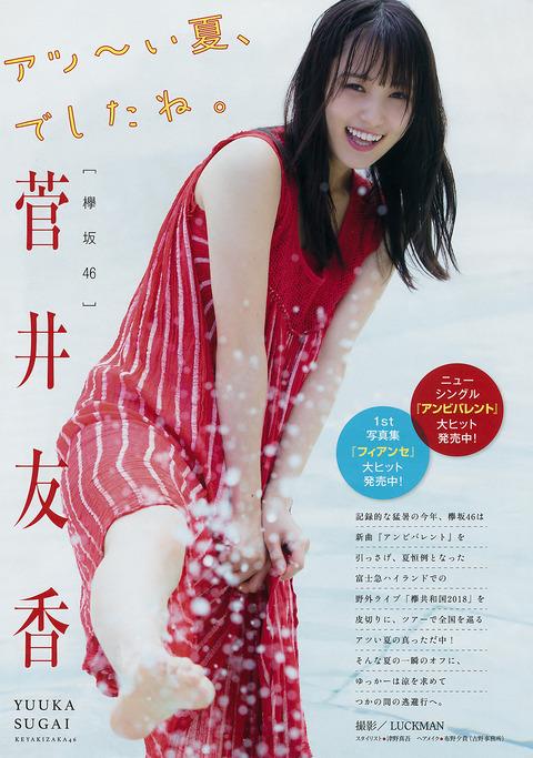 【菅井友香】欅坂46のお嬢様 菅井友香ちゃんの最新グラビア画像★