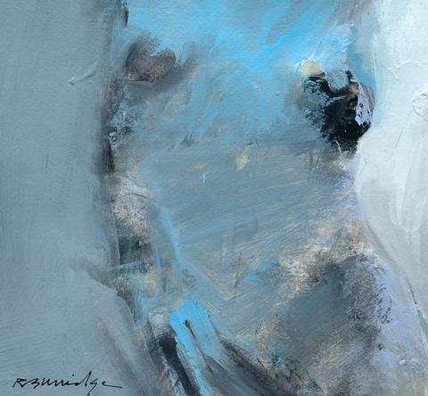 Blue Nude Torso