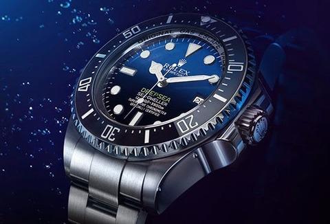 Rolex-Deepsea-Sea-Dweller-D-blue-dial-watch-reference-116660