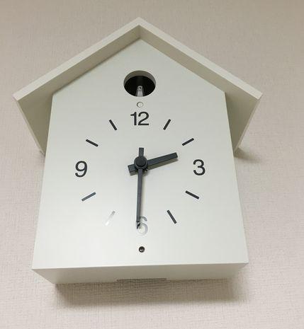 無印良品鳩時計大