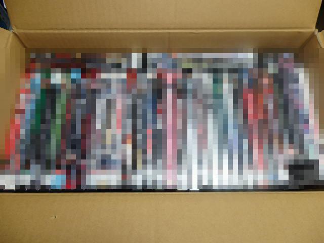 【本日の仕入れ】ホラー&極道映画DVD 63点 35,460円なり