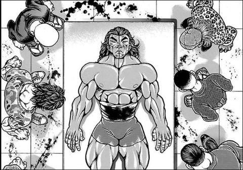 【刃牙シリーズ】「烈海王」って別に退場させる必要なかったよな・・・・・(画像あり)