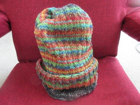 腹巻帽子4の2