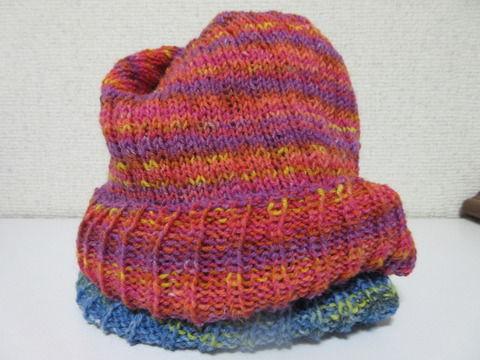 腹巻帽子3の4