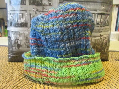 腹巻帽子7の2