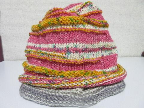 腹巻帽子2の1