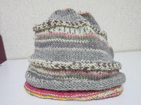 腹巻帽子2の2