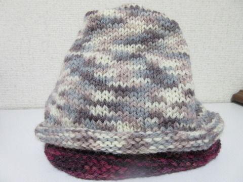 腹巻帽子1の2