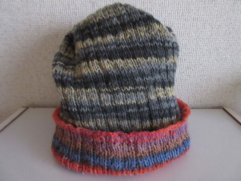 腹巻帽子11の2