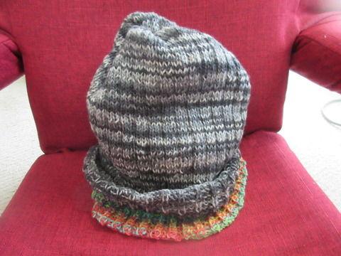 腹巻帽子4の3