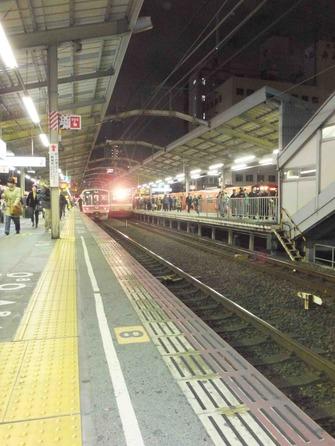 JR新今宮駅ホーム