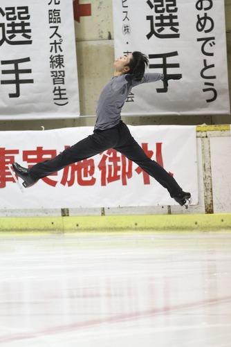 町田さん公開練習・メーン