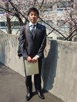 織田くん入学式