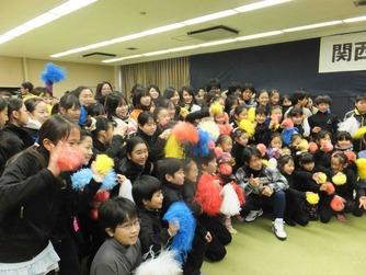 町田さん臨海壮行会2