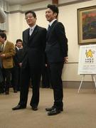 松井知事と高橋大輔さん