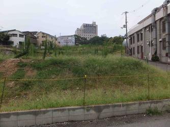 関大前通りの土地