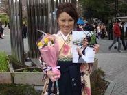 赤松悠実さん卒業